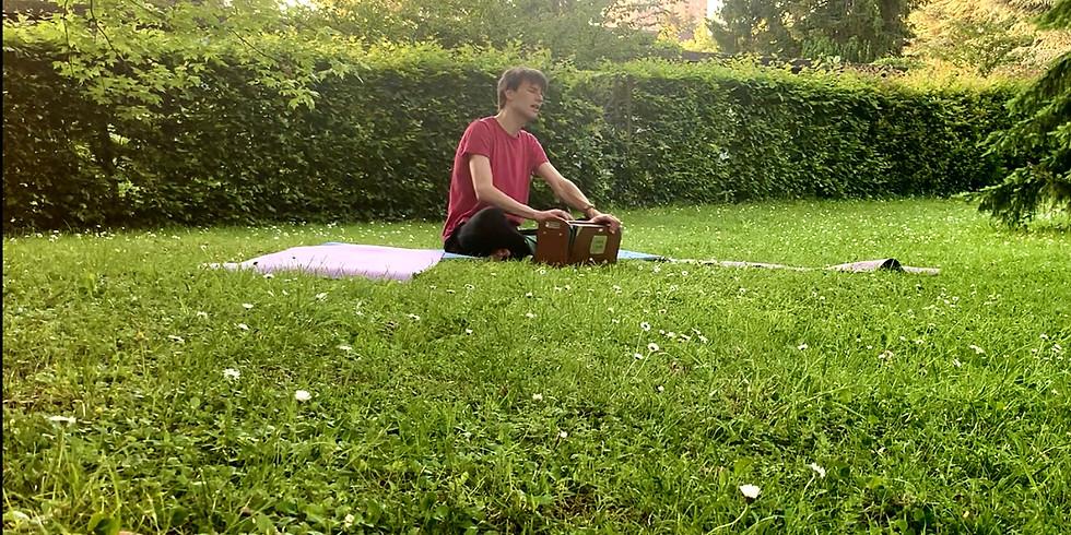 Meditative Mantra-chanting