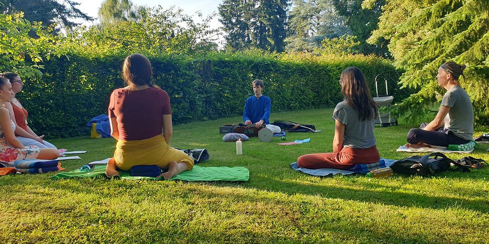 Meditative Chanting - outdoor
