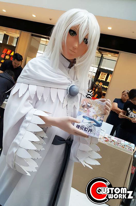 Snowden Yuki Kigurumi Mask Scratch Build Commission Completed