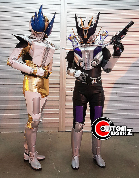 Kamen Rider Wing Form & Gun Form Cosplay Suit Commission