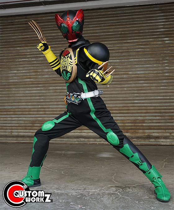 Kamen Rider OOO Full Cosplay Suit 2nd Commission Phototshoot