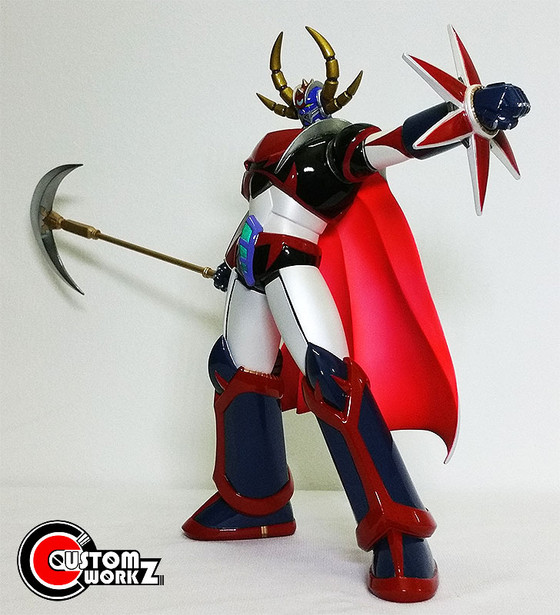 1/7 Grendizer Giga Resin Kit Painting & Assembling Commission
