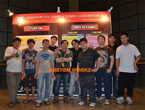 Custom Workz @ STGCC 2011 - Day 1