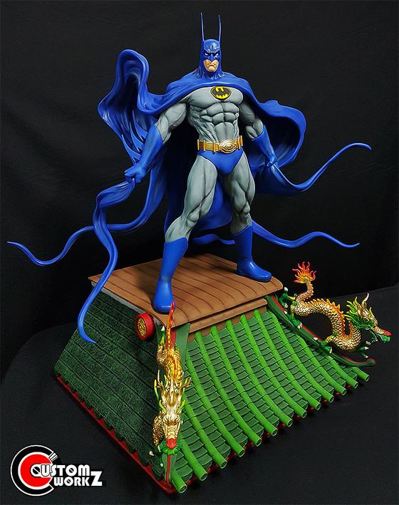 1/4 Asian Batman Custom Kit/Statue Repair & Painting Commission