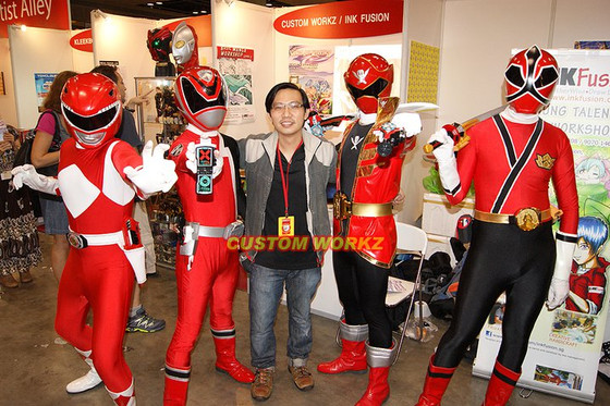Custom Workz @ STGCC 2011 - Day 2