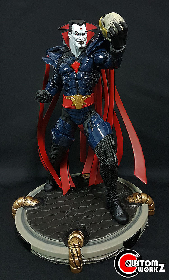 1/4 Icon Mr Sinister Resin Garage Kit Painting & Assembling Commission