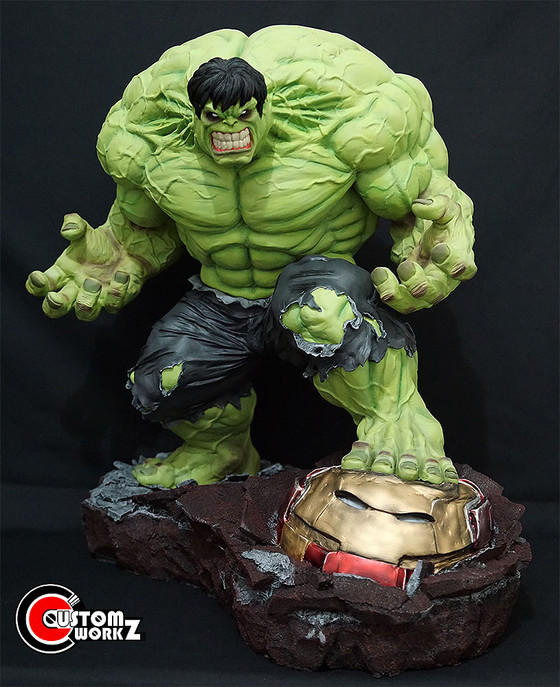 1/4 Troy Mcdevitt Hulk Custom Statue/Kit Painting & Assembling Commission