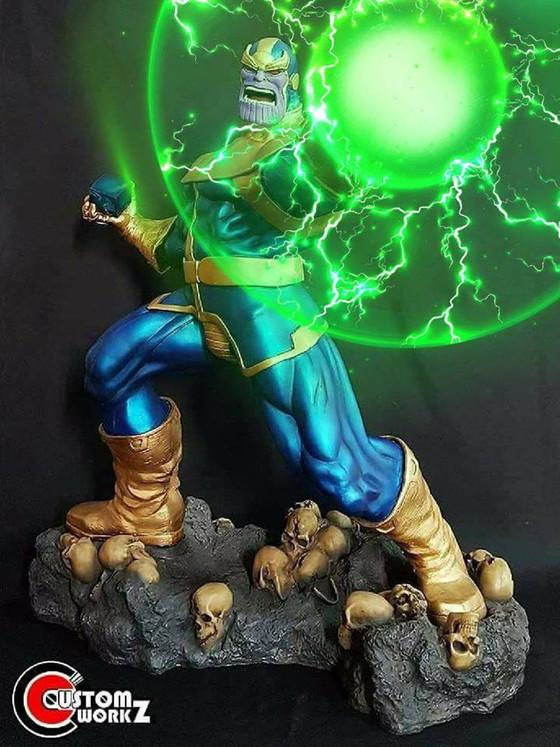 1/4 Pearl Thunder Studios Thanos Statue Modify/Repair/Repaint Commission