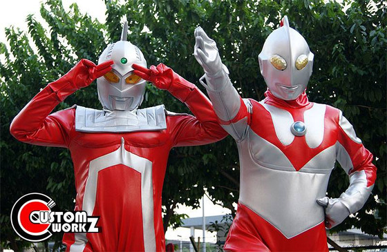 Ultraseven & Ultraman Photo Shoot