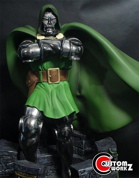 1/6 Doctor Doom Statue Custom Repaint Commission