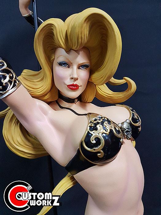 1/4 Sideshow Lady Death Premium Format Statue Repaint Commission