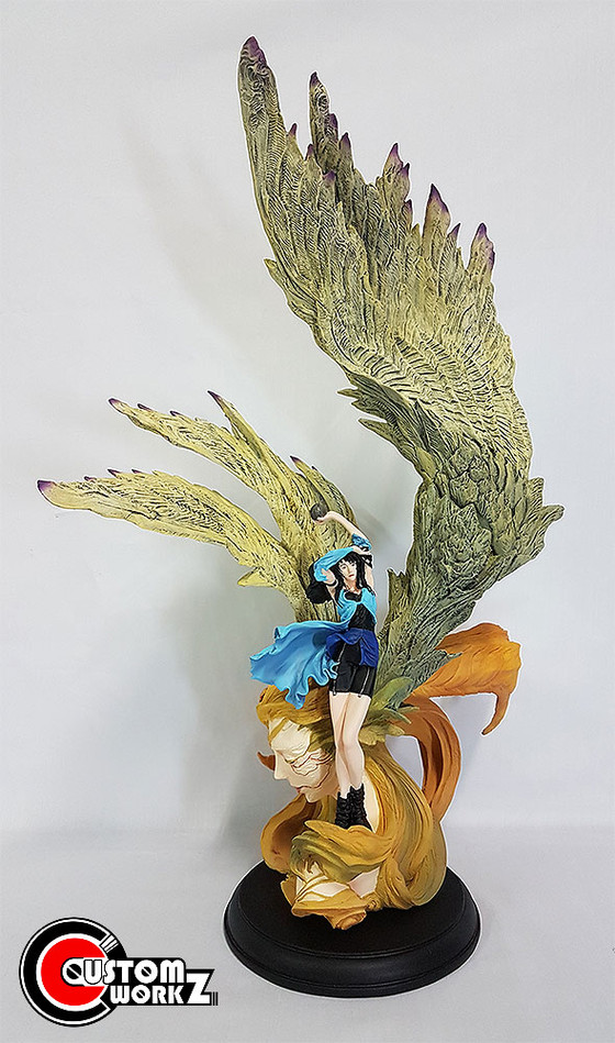 Final Fantasy 8 Rinoa & Guardian Siren Resin Garage Kit Painting & Assembling Commission