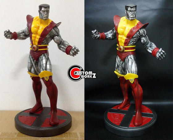 1/6 Colossus Marvel Statue Custom Repaint Commission