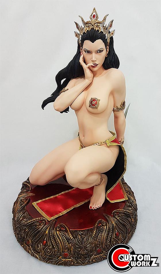 1/3 ARH Arkhalla Seduction Statue Modification & Repaint Commission