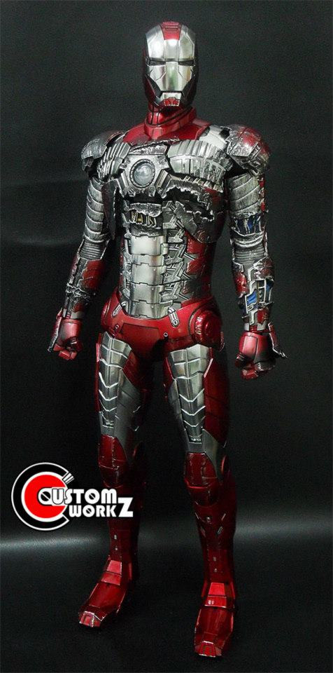 Hot Toys Iron Man MK V Customization & Repaint Commission