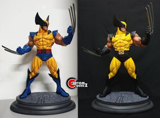1/4 Eric Sosa Wolverine Custom Statue Repair & Repaint