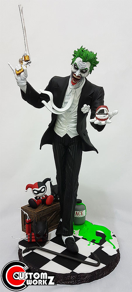 1/4 Joker Custom Statue(Suicide Squad Version) Painting & Assembling Commission