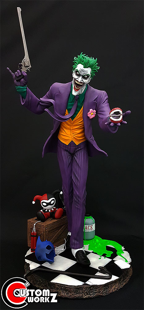 1/4 Joker Custom Resin Kit/Statue Painting & Assembling Commission