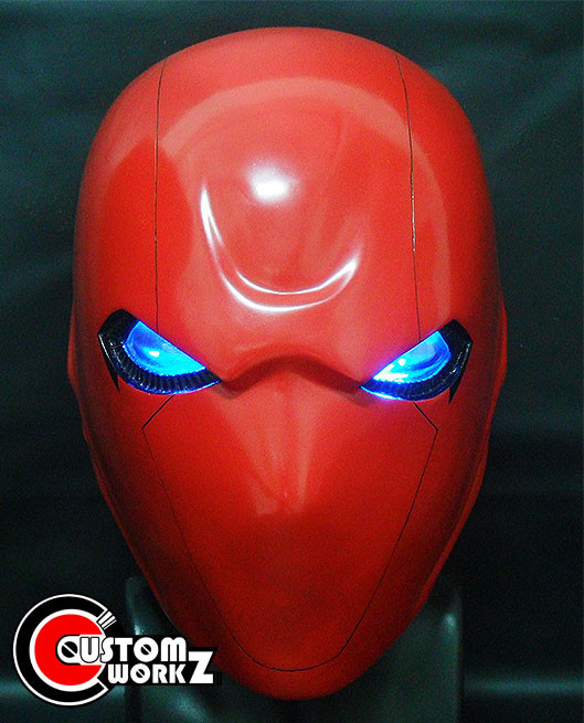 Red Hood Custom Helmet Commission Completed