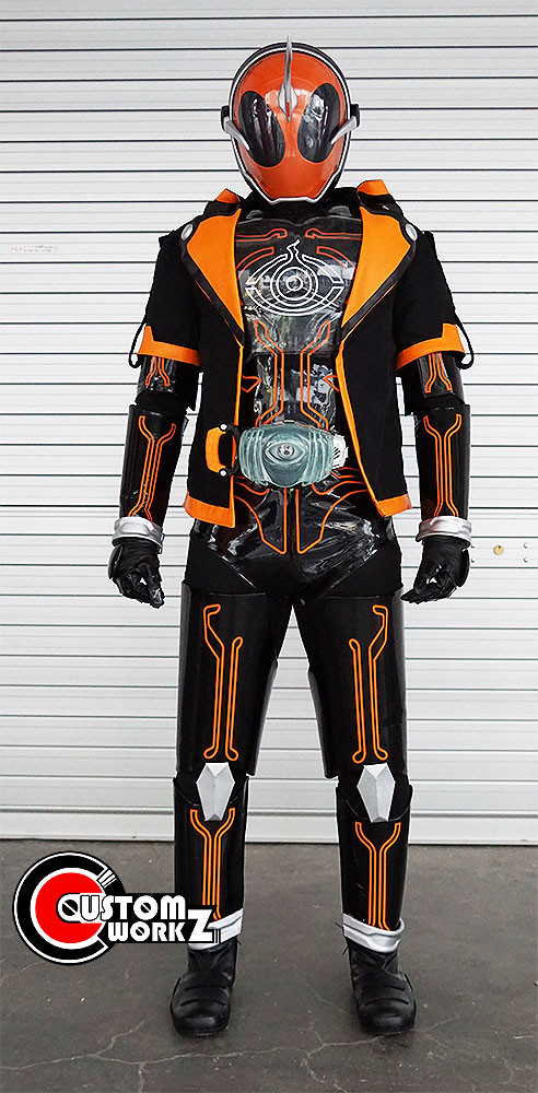 Kamen Rider Ghost Ore Tamashii Form Full Cosplay Suit Commission Completed