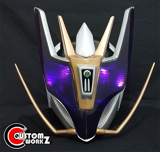 Kamen Rider Den-O Gun Form Cosplay Prop Helmet Commission