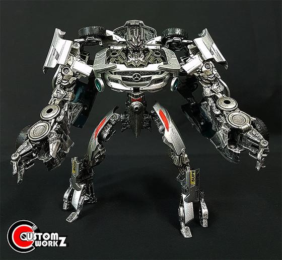 Human Alliance Soundwave Laserbeak Transformers & Mr Gould Repaint Commission