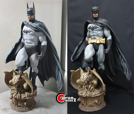 1/4 Sideshow Premium Format Batman Statue Conversion/Repaint Commission