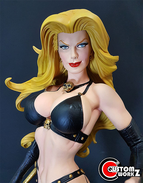 1/4 Sideshow Lady Death Premium Format Statue Modification & Repaint Commisison