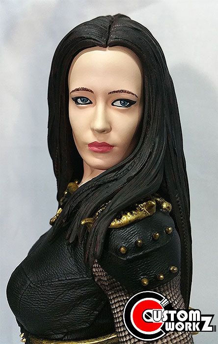 1/4 Scale Artimesia Statue Repair & Repaint Commission Completed