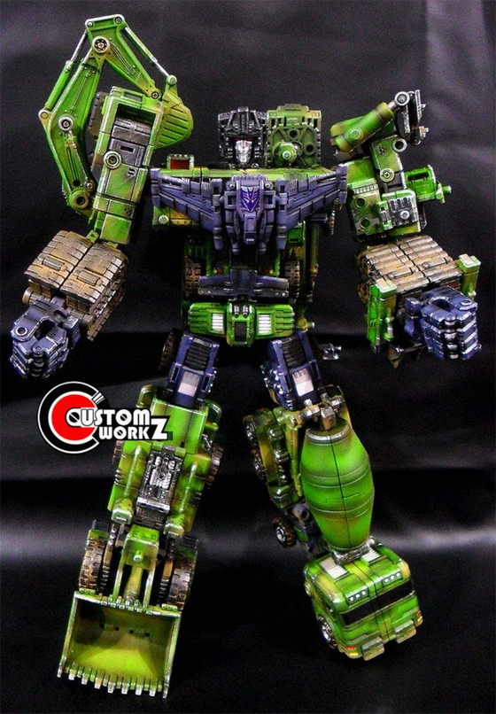 TFC Devastator Transformers Repaint Commission