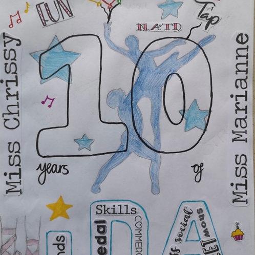 IDA 10 Year celebration magazine