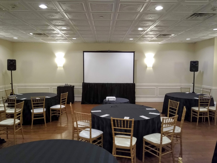 video screen rental