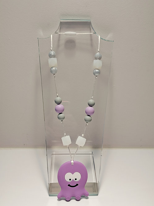 Handmade Teething Necklace (multiple patterns available)