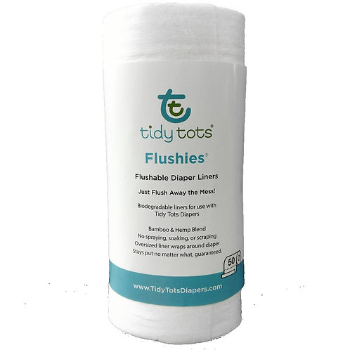 Tidy Tots Flushies Diaper Liners