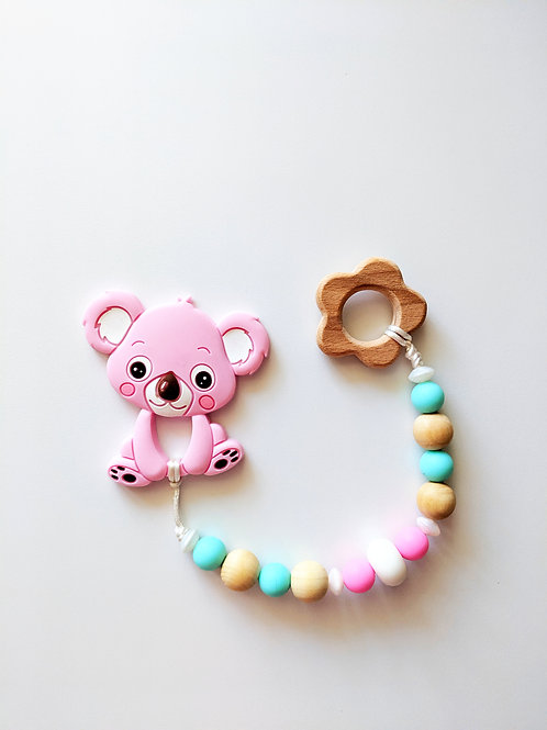 Handmade Teether (multiple patterns available)