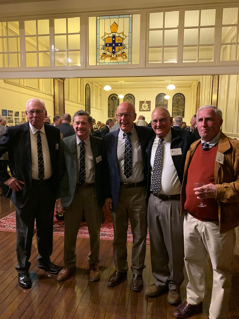 Old Boys Re-Union. TAS Armidale 1959!