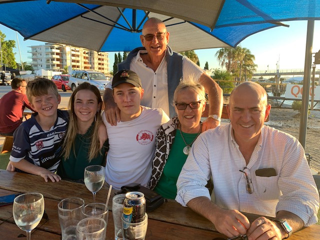 Lovely Fathers Day with the Gladstone Gang