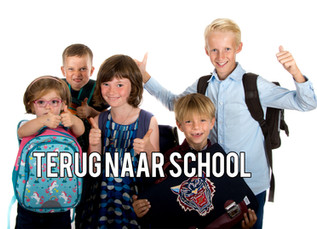 Eerste schooldag!