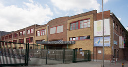 Schoolgebouw kleur