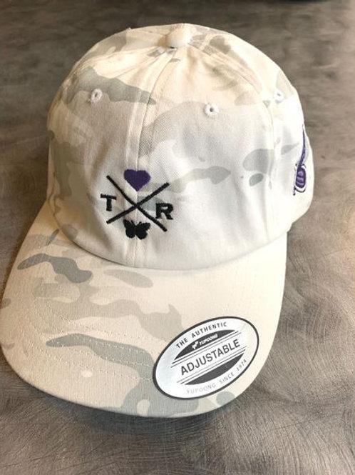 Thea T-Bird cap - Classic White Camo O/S