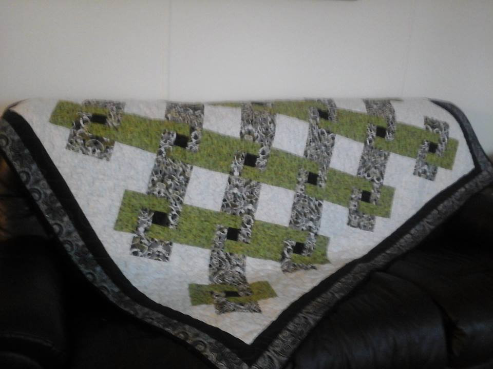 Early lap quilt