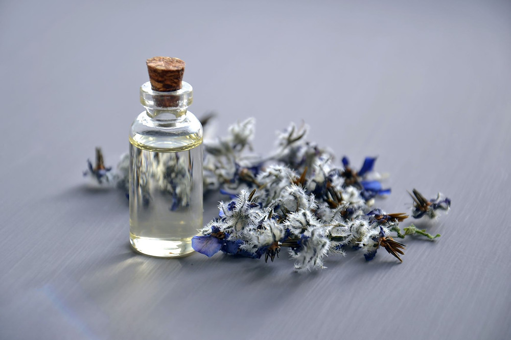 Essential Oils help soothing congested baby