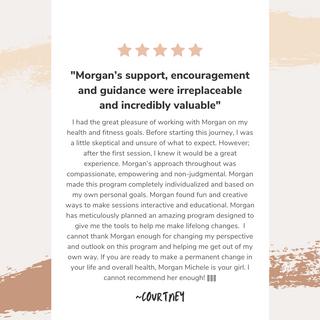 Morgan Michele Client Review