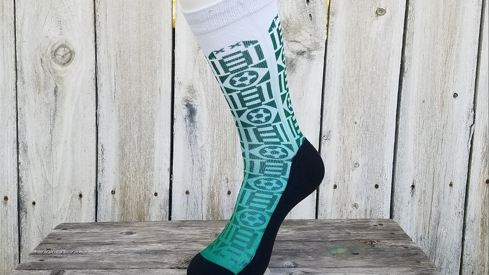 "Sockatines ""mexico '92"" men's lifestyle soccer sock"