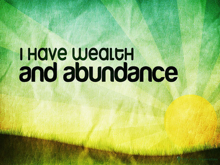 LIFE IN ABUNDANCE COMES ONLY THROUGH GREAT LOVE