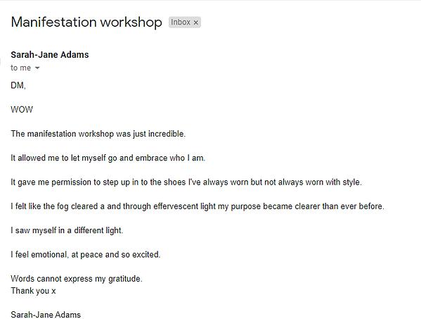 2021-01-21 Manifestation workshop testim