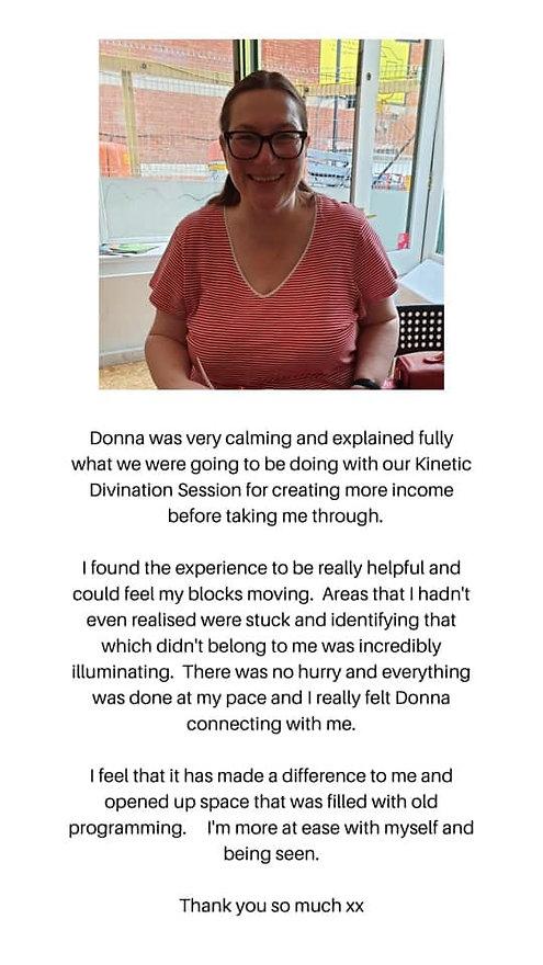 donna marie self mastery testimonial