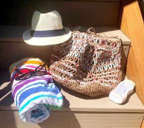 Plarning: Crochet a Beach Bag from Plastic Yarn 🛍   Free Crochet Pattern & Video Tutorial