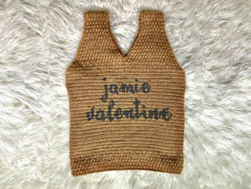 Textured Crochet Tank Top For Personalization   Free Pattern