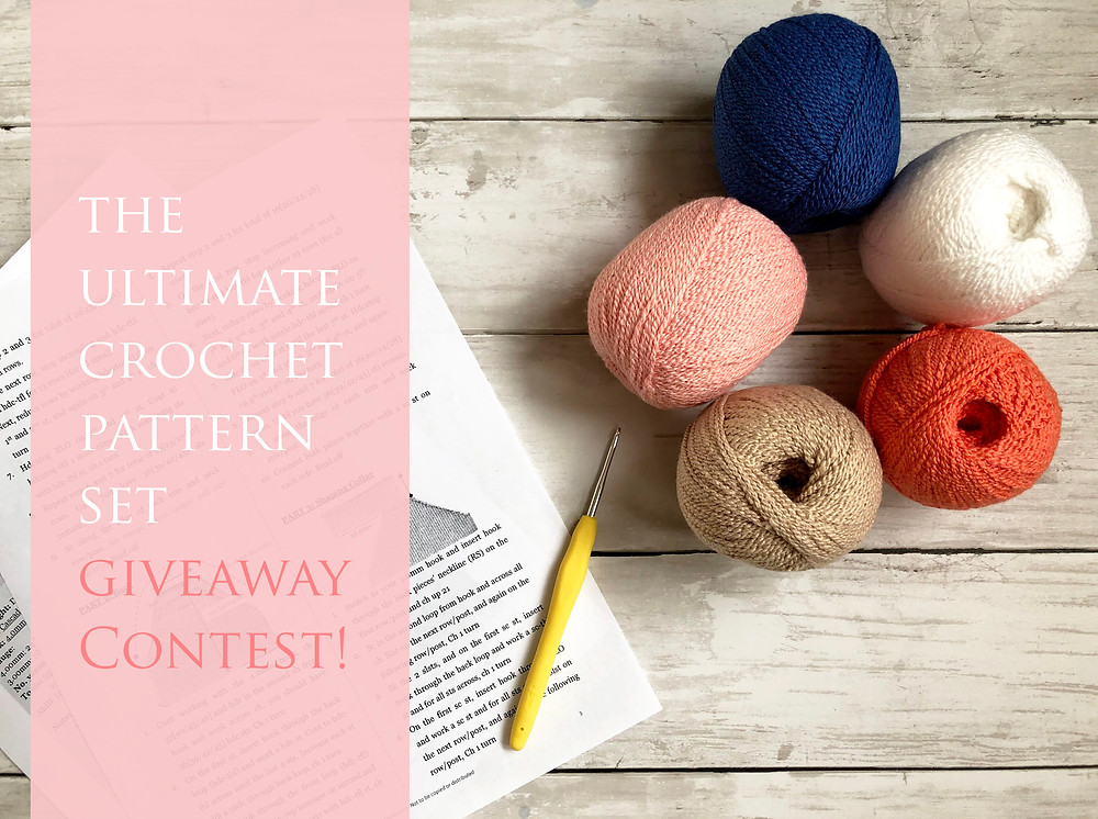 Free crochet goodies to be given away